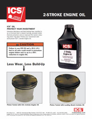 ICS 2-Cycle Oil Fact Sheet