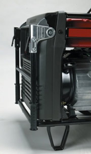 EU6500i has conventient folding handles to minimize storage space.