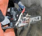 ICS 680GC Concrete Chainsaw Plunge Cutting
