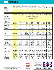 DCA-25SSI Specifications