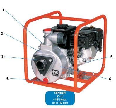 multiquip qp 204h general purpose water pump rh cessco us