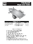 DCA-20SPXU2 TRLR-50XF Trailer Specifications